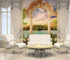 Фотообои  Divino Decor Античная арка 200х270