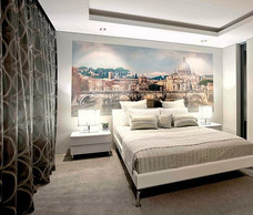 Фотообои  Divino Decor Мост Сан-Анджело в Риме 300х147